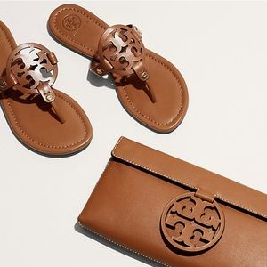 Tory Burch NWOT Leather Miller Sandals